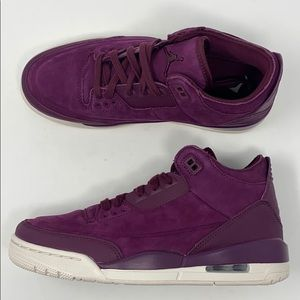 Air Jordan 3 retro SE Bordeaux purple off white